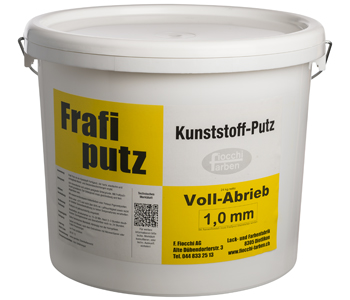 Frafiputz Vollabrieb 1,0 mm