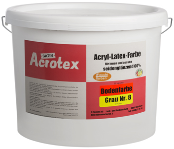 Acrotex Bodenfarbe