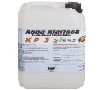 Aqua-Klarlack KP3 glanz