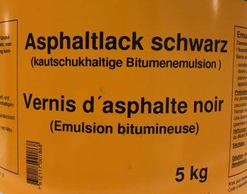 Asphaltlack schwarz