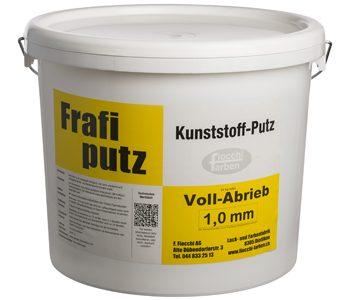 Frafiputz Vollabrieb 1,0 mm