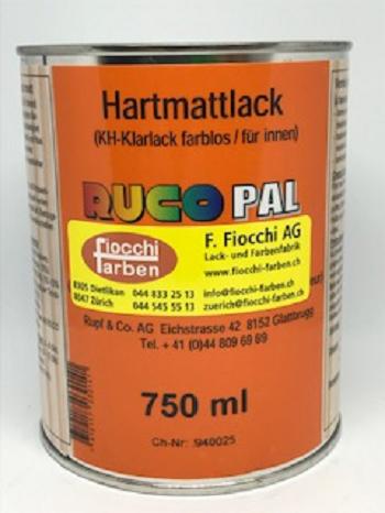 Hartmattlack