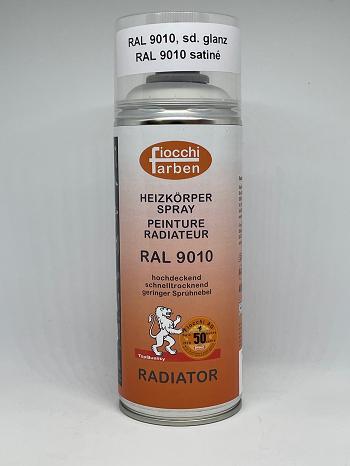 Heizkörper Spray RAL 9010