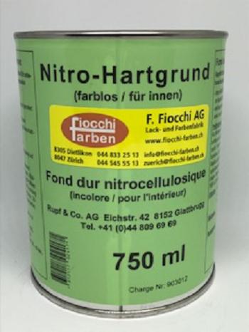 Nitro-Hartgrund farblos