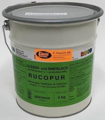 Rucopur Aussen und Innenlack