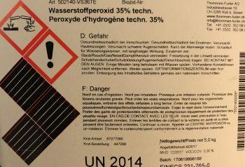 Wasserstoffperoxid 35Prozent
