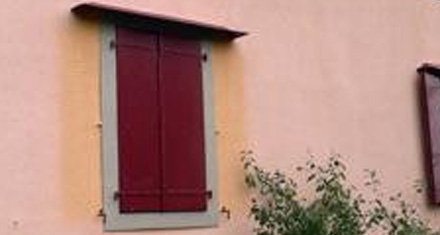 Farbveränderungen an Fassaden